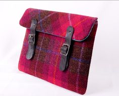 Harris Tweed iPad cover van Breagha via http://nl.dawanda.com/