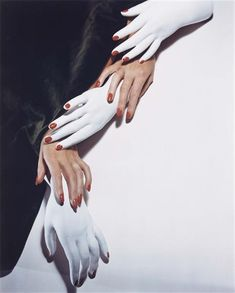 Nails in Technicolor, New York, 1941 by  Horst P. Horst *   [also in sepia & b+w]