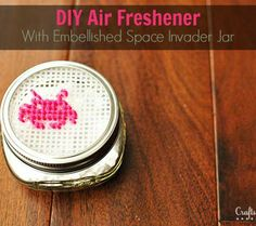 ots of fun kids craft ideas.)  Homemade air freshener with plastic canvas)