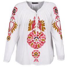 Hier kommt eine tolle #bluse zum Relaxen! Mit ihrem fließenden #stoff und dem sommerlichen #print ist dieses Modell von Antik Batik genau das Richtige für ein heißes #wochenende. Jetzt gesehen auf @spartood ! #damenmode #oberteile #blusen Antik Batik, Pullover, Outfit, Sweaters, Fashion, Tops, Fashion Women, Amazing, Scale Model