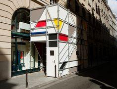 Mondrian scaffolding