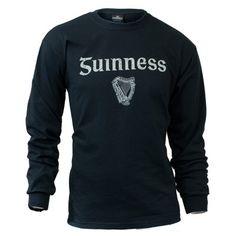 GUINNESS BLACK GAELIC LONG SLEEVE (http://www.mullysirishimports.com/guinness-black-gaelic-long-sleeve/)