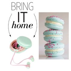 """""""Bring It Home: Macaron Headphone Storage Box"""" by polyvore-editorial ❤ liked on Polyvore featuring interior, interiors, interior design, home, home decor, interior decorating and bringithome"""