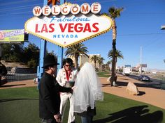 Get married by Fake Elvis in Las Vegas. Bahahahaha