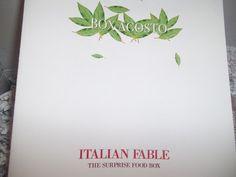UNA FANTASTICA EMOZIONE......: ITALIAN FABLE IL MIGLIOR CIBO ITALIANO IN UNA SCAT...
