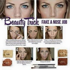 Want to slim down your nose, here's how you can ladies!