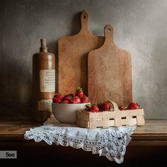 Photograph Strawberries II by Justyna Karczewska on 500px