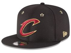 100% authentic 4d9fa 4dfcd Cleveland Cavaliers New Era NBA All Star Gold Star Snapback Cap Cavs Hat,  Draft Games
