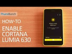 How to enable #Cortana on #Nokia #Lumia630 Dual-SIM running #WindowsPhone 8.1 in any region other than US. #WP81