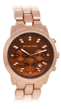I don't wear watchs but pink gold <3 is a weak spot for me -Michael Kors Women's Classic <3