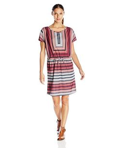 prAna Womens Lindy Dress Small Redberry * Learn more by visiting the image link.