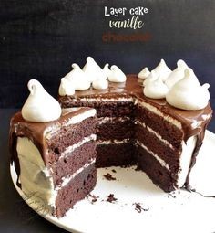 Layer cake vanille chocolat You are in the right place about Layered necklaces Here we offer you the most beautiful pictures about the mid length Layered you are looking for. When you examine the Layer cake vanille chocolat part of[. Berry Smoothie Recipe, Easy Smoothie Recipes, Easy Cake Recipes, Dessert Recipes, Dessert Food, Cupcake Recipes, Caramel Buttercream Frosting, Homemade Frosting, Homemade Frappuccino