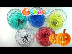 Orbeez Halloween Surprises - Eggs and Toys TV