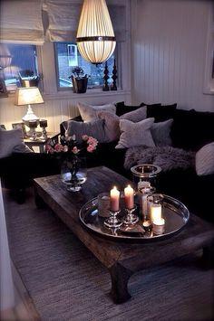 Ambiance chaleureuse - salon