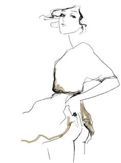 the ideal crash | Garance Doré #fashion #illustration