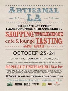 Artisanal LA 2010 Fall Show Poster