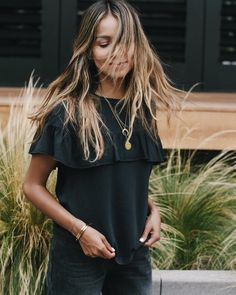 Gone with the wind. ❤️ | shop our Amelia top: shopsincerelyjules.com