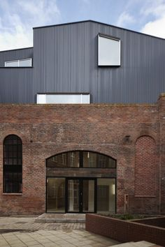 Architect: Project Orange /  Location: Shoreham, England / 192 Shoreham Street is a Victorian industrial brick building sited at the edge of the Cultural Industries Quarter Conservation Area of Sheffield. The completed development seeks to rehabilitate the once redundant building, celebrate its industrial heritage and make it relevant to its newly vibrant context. The brief was to provide mixed use combining a desirable double height restaurant/bar within the original shell with duplex…
