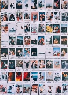 Room deco Apartment ideas college bedrooms photo collages 33 trendy ideas How to Build a Photo Polaroid, Polaroid Wall, Polaroids On Wall, Polaroid Collage, Instax Wall, Polaroid Pictures Display, Polaroid Display, Photo Wall Collage, Picture Wall