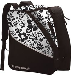 Transpack Bag - Ice (Floral White) by Transpack. $44.99. Lightweight and rugged, the ICE will get your skates and gear to the rink in comfort and style.