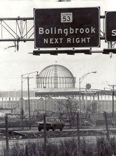 Old Chicago Mall & Amusement Park Under Construction, Bolingbrook, Illinois