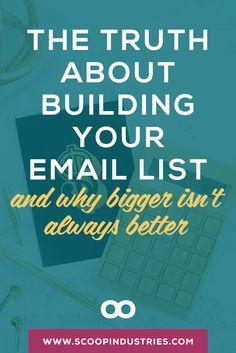 Pin this & discover why building an email list may NOT need to be at the top…