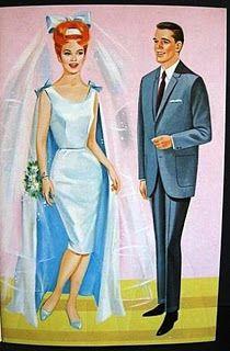 ☆Sharon's Sunlit Memories☆: Here Comes the Bride - Saalfield #1320/1967