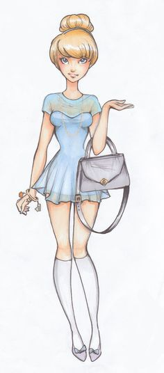 Disney high:Cinderella by *Nina-D-Lux on deviantART