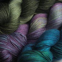 Hedgehog Fibres yarn, Little Island, County Cork, Eire. Wool Yarn, Knitting Yarn, Knitting Patterns, Crochet Patterns, Yarn Thread, Yarn Stash, Hedgehog Fibres, Yarn Inspiration, Spinning Yarn