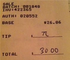 i'm going to assume that my total will never be 26.86, because i'd love to do this.
