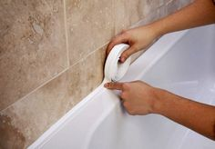 Bathroom Shower Sink Bath Sealing Strip Tape White PVC Self adhesive Waterproof Wall sticker for Bathroom Kitchen. Category: Home Improvement. Bathroom Wall Stickers, Kitchen Stickers, Diy Home Cleaning, Bathtub Cleaning, Bathtub Repair, Cleaning Walls, Diy Home Repair, Home Repairs, Diy Home Improvement