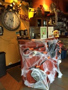 It's Fall in Ciao Bella! #happyhalloween #October #Spiderwebs #ahhh