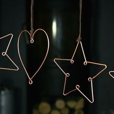 Copper Christmas Decoration