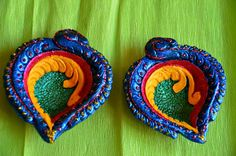 Hand painted Diyas(Lamps)