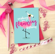 * Flamingo birthday