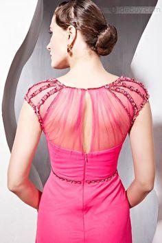 Marcela  - Encantador Vestido de Noche de Princesa con Largo al Piso