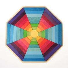 GRIMM'S Octagon Geometric Blocks