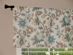 Waverly Spring Floral Spa Valance 50 wide x by LettsSewSomething, $45.00