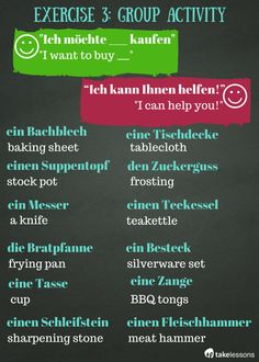 Improve Your German Vocabulary - Group Activity http://takelessons.com/blog/german-vocabulary-exercises-z12?utm_source=social&utm_medium=blog&utm_campaign=pinterest