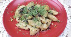 Необыкновенно вкусный, ароматный и питательный обед из ленивых картофельных вареников для всей семьи приготовим вместе