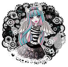 Just looking through the pictures on the Monster High and decided to draw the character^^ Venus McFlytrap Monster High Art, Monster High Characters, Monster High Dolls, Rochelle Goyle, Female Monster, Ever After Dolls, Tumblr Art, Comic Movies, Movie Tv