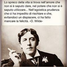 Lo spreco della vita - Oscar Wilde