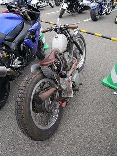 Honda Rat Bobber