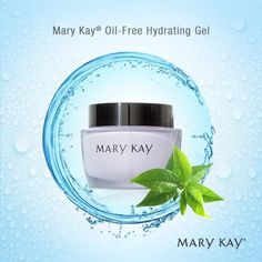 Mary Kay Oil-Free Hydrating Gel is a nongreasy gel that absorbs quickly, leaving skin feeling cool and refreshed. https://www.marykay.com/LaShon