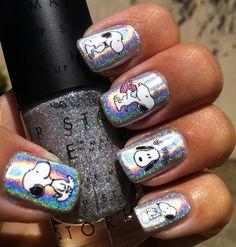 Glam Polish: Snoopy Nails!