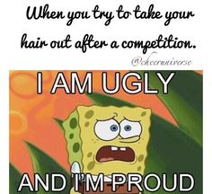 Dancer probs....Lol yup...and then having all that makeup on xD  Makes you just feel beautiful... NOT