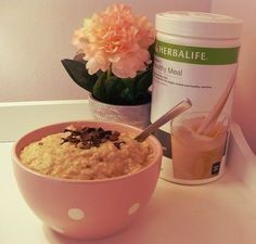 Oatmeal with Herbalife