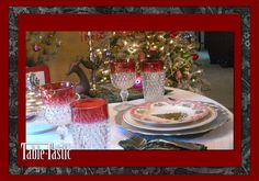 Christmas Tablescapes, Christmas decor