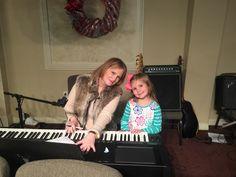 Faith loves the piano