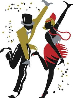 Charleston - Jazz Collection by Ty Wilson A collection of beautiful art prints Arte Jazz, Jazz Art, Illustrations, Illustration Art, 1920s Dance, Wilson Art, Paris Poster, Chicago Poster, Swing Dancing